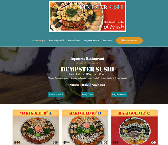 dempster sushi